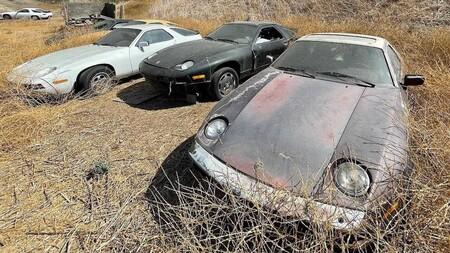 Es hallado involuntariamente un auténtico cementerio de Porsche en California
