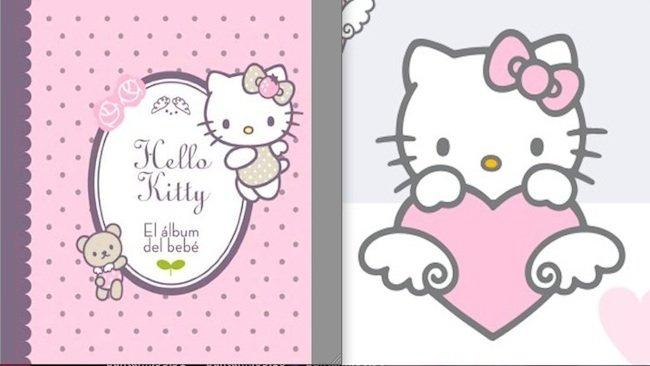 El lbum del beb de hello kitty - Hello kitty bebe ...