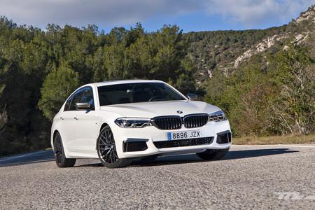 Probamos el BMW M550i xDrive: buscando la M en una lujosa berlina V8 de 462 CV
