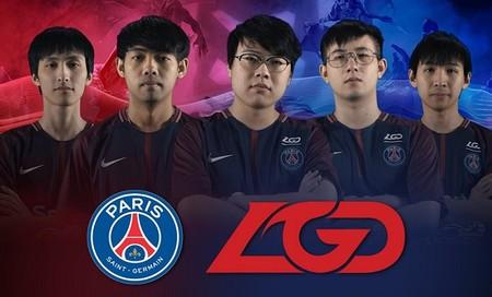 El París Saint-Germain y su apuesta con un equipo chino de Dota 2