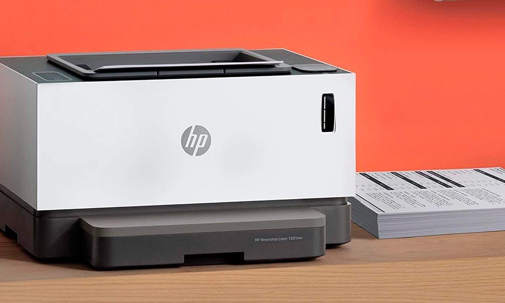 ¿Buscas impresora láser a buen precio? En la HP Week de PcComponentes la HP Neverstop Laser 1001nw lleva un 22% de descuento y se queda en menos de 210 euros