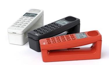 Originales teléfonos de colores diseñados por Jasper Morrison