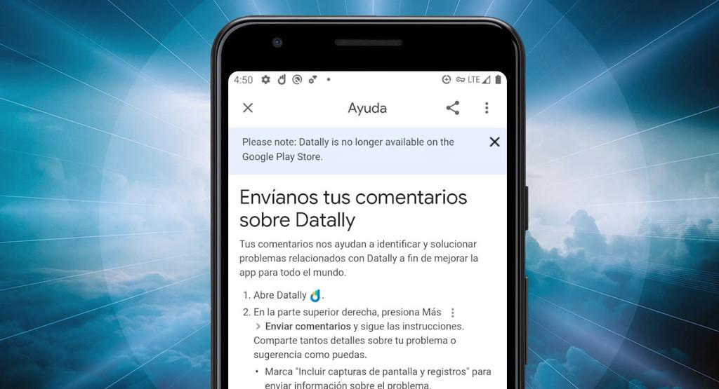 Google quita Datally, su apps para economizar datos, de Google™ Play