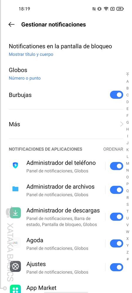 Notificaciones Apps