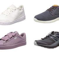 Chollos en tallas sueltas de zapatillas Adidas, Salomon, Mustang y Puma en Amazon