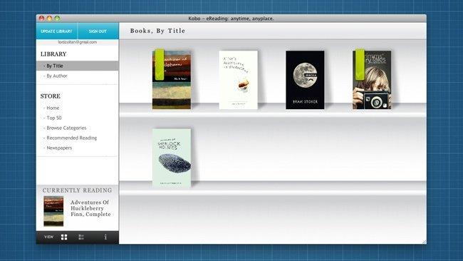 kobo desktop libros electrónicos ebooks epub