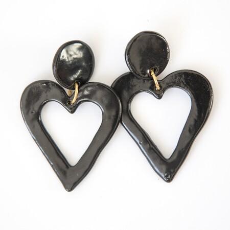 pendientes de corazon de rigoberta bandini