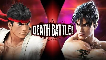 Ryu vs. Jin: los abanderados de los juegos de lucha se dejan los nudillos en el último combate a muerte de ScrewAttack!