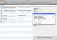 File List, renombrando archivos y directorios en Mac nunca fue tan fácil
