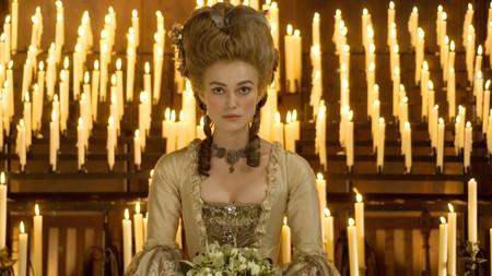 Keira Knightley en La Duquesa