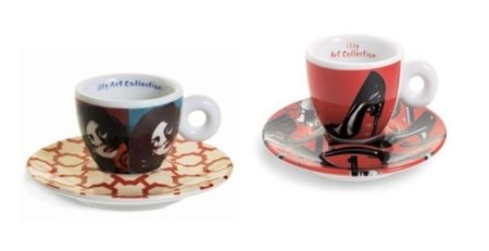 Tazas de café de Illy en colaboración con Pedro Almodóvar