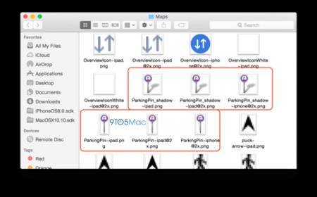 """Más funciones ocultas: iconos de """"has aparcado aquí"""" descubiertos en iOS 8"""