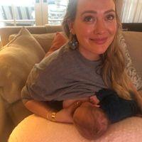 El sincero mensaje de Hilary Duff acerca de los retos de la lactancia y el difícil momento del destete