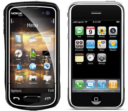 Rivales para el iPhone de Apple: conectividad