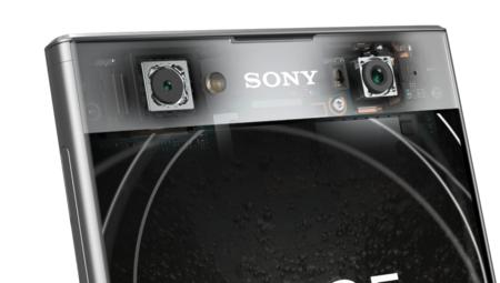 La doble cámara frontal del Sony Xperia XA2 Ultra