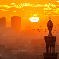 Atardecer El Cairo