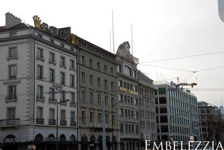 Ginebra, ciudad de lujo