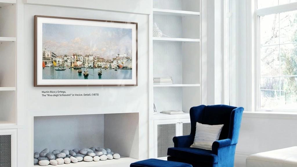 Samsung incorpora los últimos paneles QLED en sus televisores de diseño vanguardista The Frame para 2019