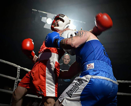 A Runner Up From Pipa In Sport Category Capturing A Boxing Match In Manchester By Sullyphotograph