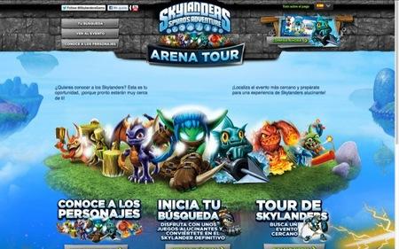 El Skylander Spyro's Adventure Arena Tour llega a Madrid el 22 y 23 de septiembre 2012