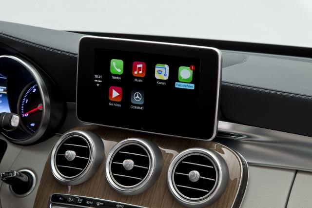 Foto de CarPlay Mercedes Benz Clase C (14/26)