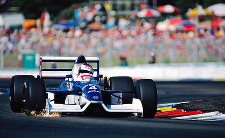 Jean Alesi Tyrrell 019 Paul Ricard 1990