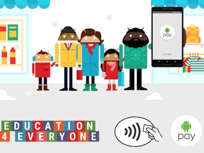 Google ayuda a la educación especial por cada compra que se hace con Google Pay
