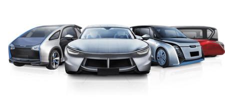 ¿El coche solar es posible? Hanergy quiere conseguirlo en tres años y nos presenta cuatro conceptos impresionantes