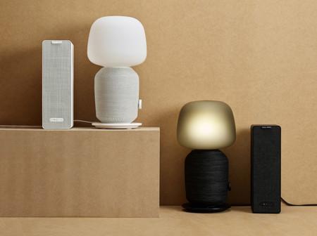 Lámpara altavoz de IKEA