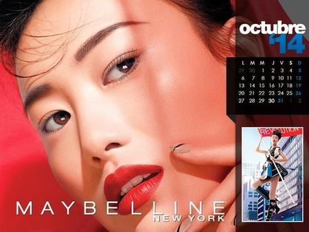 octubre maybelline 2014