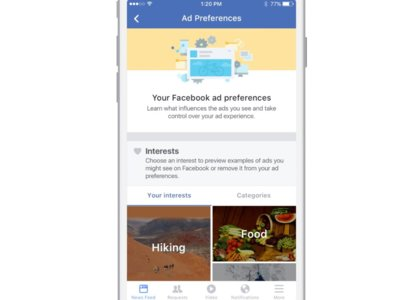 Facebook lucha contra los ad-blockers, al tiempo que mejora las opciones de selección de anuncios