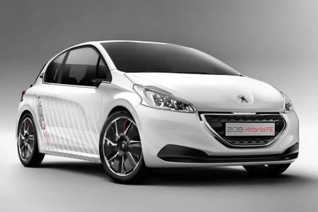 Peugeot 208 HYbrid FE, novedad en el Salón de Frankfurt