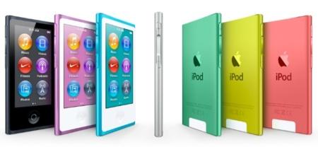 Nuevo iPod Nano, más música en una pantalla multitouch de 2,5 pulgadas