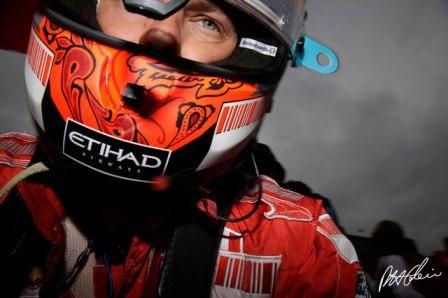 Kimi Raikkonen, de mal en peor