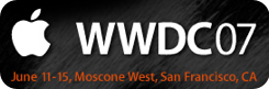 ¿Qué esperamos de la WWDC'07?
