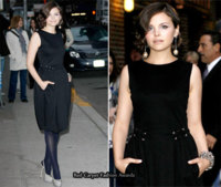 Ginnifer Goodwin en el show de David Letterman