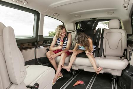 Mercede-Benz Clase V - interior