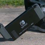 El Nintendo Switch sale bien librado en la prueba de resistencia a las caídas