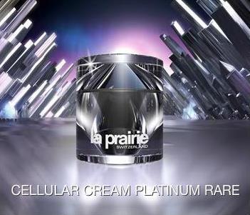 Novedad cosmética con platino puro
