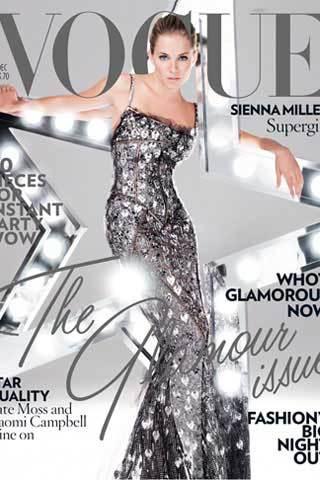 Sienna Miller en Vogue UK