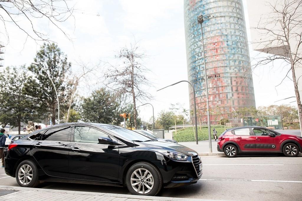 Un Uber en Barcelona