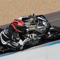 Mike Di Meglio domina la categoría de motos eléctricas de MotoGP en el último día de test en Jerez