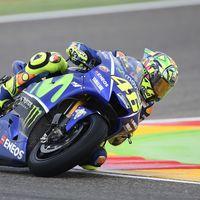 """Valentino Rossi: """"Espero que mañana la pista esté seca para descubrir el potencial de mi pierna"""""""
