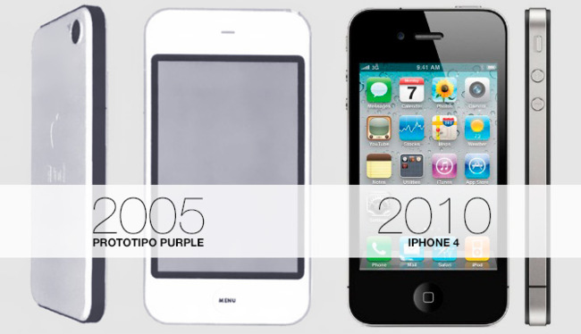 iPhone prototipo Purple (2005)