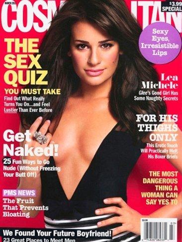 Pedazo de escote tan infartante se ha marcado Lea Michele