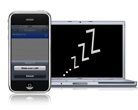 iWol y SleepOver: enciende tu ordenador remotamente desde el iPhone/iPod Touch