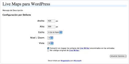 Live Maps Wordpress