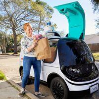 El Nuro R2 es un coche eléctrico de reparto autónomo que mezcla Glovo con un Amazon Locker, y está a punto de llegar