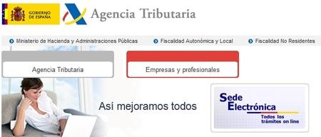 La Agencia Tributaria permitirá modificar datos censales de ingresos a cuenta y retenciones online