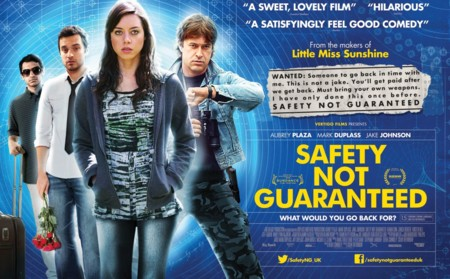 Jurassic World y Jurassic Park Referencias, Safety Not Guaranteed